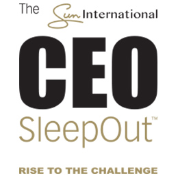 Gavin Varejes and Andrew Dunn take up the challenge for CEO SleepOut 2016