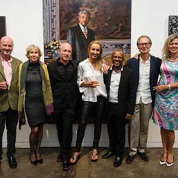 """""""Mandela: A Life's Journey"""": a private viewing of an incredible art collection brings new insight into Nelson Mandela's life"""