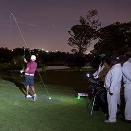 Richmark Hosts Night Golf