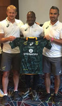 Excitement mounts after the handover of the Springbok Seven's jersey and a victorious first round for SA in the Rugby Seven's Tournament.
